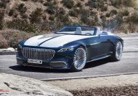 Mercedes-maybach 6 Elegant Mercedes Maybach 6 Cabriolet Looks Stunning with Production Cues