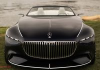 Mercedes-maybach 6 Lovely Black Car Mercedes Maybach 6 Cabriolet 2017 Front View