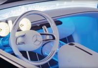 Mercedes-maybach 6 Lovely Mercedes Maybach 6 Cabriolet Steering Wheel and Dashboard 2