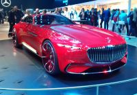 Mercedes-maybach 6 Luxury ФайРMercedes Maybach Vision 6 Concept Mondial Auto 2016 4