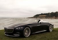 Mercedes-maybach 6 Luxury Vision Mercedes Maybach 6 Cabriolet 2017 года выпуска Фото