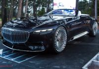 Mercedes-maybach 6 Luxury Vision Mercedes Maybach 6 Cabriolet First Look