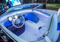 Mercedes-maybach 6 Luxury Vision Mercedes Maybach 6 Cabriolet Interior 01 с