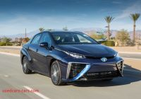 Mirai Driving Range Elegant toyota Mirai Sets New Driving Range Record for Hydrogen