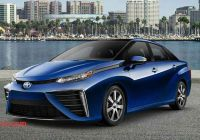 Mirai Driving Range Fresh toyota Unveils Revamped Hydrogen Sedan Mirai to Take On