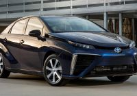 Mirai Driving Range Luxury toyota Mirai Fcv Epa Estimated Performance Range