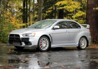 Mitsubishi Lancer Evolution X Lovely 17k Mile 2008 Mitsubishi Lancer Evolution X Gsr for Sale