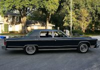 Modified Classic Cars for Sale Usa New 1979 Lincoln Continental town Car Collector's Series Edition