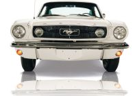 Mustang Test New the 1965 ford Mustang Gt K Code Fastback In Wimbleton White