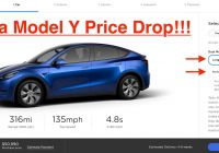 New Tesla Battery Cost Elegant Tesla Reduces Model Y Prices now Starts Below $50 000