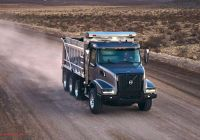 New Trucks Awesome Volvo Unveils New Vhd Vocational Trucks with New Look