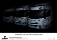 New Trucks Beautiful Scania Reveal New Fully Electric and A Plug In Hybrid Trucks