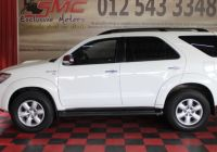 New Used Cars Near Me Awesome toyota fortuner 3 0d 4d Auto 2011