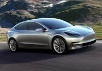 Next Gen Tesla Model S Elegant Volt Architect Says the Model 3 Can T Break even at $35 000