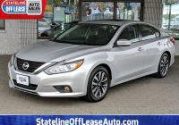 Off Lease Cars for Sale Lovely Used 2017 Nissan Altima 2 5 Sl Variable Sedan