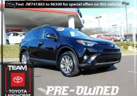 One Owner Used Suvs Fresh Used Certified One Owner 2018 toyota Rav4 Limited Awd Suv Near