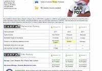 Order Carfax Fresh the Real Story On Many Of Those Great Deals