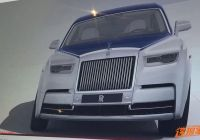 Phantom Works Garage Awesome Leaked First Pictures Of the New Rolls Royce Phantom