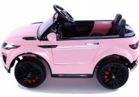 Pink Ride On Car Fresh Range Rover Evoque Style 12v Child S Ride On Car Pink