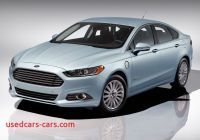 Plug In Fusion Luxury ford Fusion Energi Plug In Hybrid to Be Priced at 39495