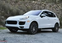 Porsche Cayanne Awesome 2017 Porsche Cayenne S One Weekend Review Automobile
