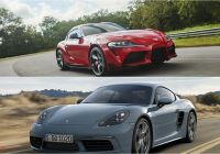 Porsche Of orlando Awesome 2020 toyota Supra Vs 2019 Porsche 718 Cayman
