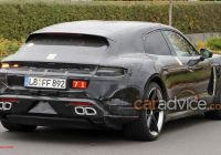 Porsche Taycan Vs Tesla Model S Beautiful 2020 Porsche Taycan Sport Turismo Spied with Less Disguise