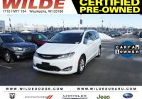 Pre Used Cars Beautiful Certified Pre Owned 2018 Chrysler Pacifica touring L Van Minivan In