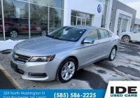 Pre Used Cars Luxury Pre Owned 2014 Chevrolet Impala Lt 4dr Car In Rochester Uw2545