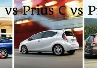 Prius 2 Vs Prius 3 Beautiful What is the Difference Between the Prius Prius C and Prius V