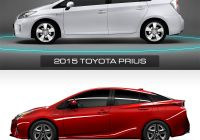 Prius Comparison Unique 2016 Vs 2015 toyota Prius Design Comparison Car Body