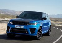 Range Rover Sport Beautiful Official 2018 Range Rover Sport Including Plug In Hybrid