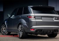 Range Rover Sport New Project Kahns Range Rover Sport Svr Pace Suited for