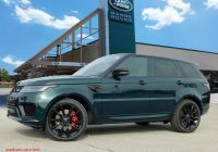Range Rover Sport Price Elegant New 2020 Land Rover Range Rover Sport Hst with Navigation & 4wd