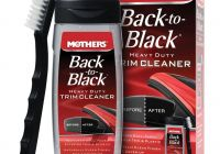 Remove Wax From Plastic Trim Luxury Mothers Back to Black Heavy Duty Trim Cleaner Best Car
