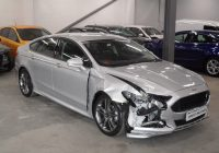 Repaired Salvage Cars for Sale Near Me Best Of 2017 67 Reg ford Mondeo St Line 2 0 Tdci Silver Salvage Damaged