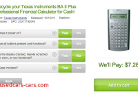 Resale Value Calculator Luxury the Resale Value Of My Ba Ii Plus Calculator 300 Hours forum