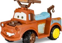 Ride On toy Car Unique Disney Mater 6v Battery Powered Ride On Quad Walmart