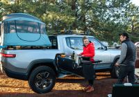 Rivian Vs Tesla Truck Lovely Meet the Rivian R1t Camper Pickup Truck with A Mobile Kitchen