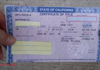 Selling A Car In Ca Luxury How to Fill Out A Pink Slip when Buying or Selling A Car