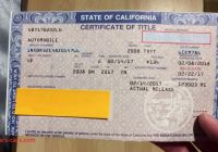 Selling A Car In Ca New How to Fill Out A Pink Slip when Buying or Selling A Car
