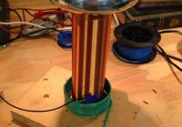 Singing Tesla Coil Beautiful 3v Micro Tesla Coil Design