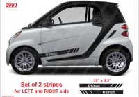 Smart Car for Sale Used Best Of 0990 Set Of 2 Pcs Smart Car fortwo 451 453 Vinyl Decal Side