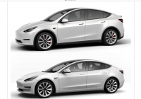Stock Symbol for Tesla Awesome Tesla Model 3 and Model Y Side by Side