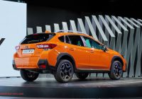 Subar Beautiful 2018 Subaru Xv is Here with Familiar Looks New Platform