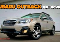 Subar Beautiful 2019 Subaru Outback Full Review Refinements to the Most