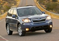 Subaru forester Awesome 2014 Subaru forester Manual Awd Pzev First Test Truck Trend