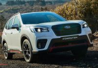 Subaru forester Best Of 2021 Subaru forester 2 5i Sport Price and Specs