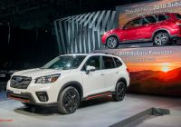 Subaru forester Elegant 2019 Subaru forester Grows Roomier Aims to Curb Distracted
