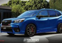 Subaru forester Fresh 2019 Subaru forester Sti Render Needs to Happen In Real Life